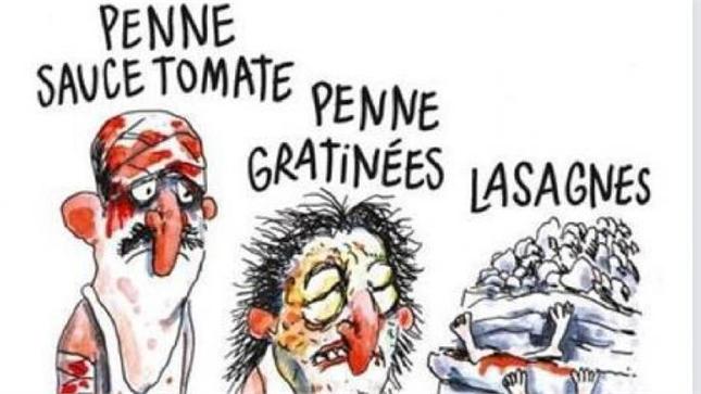 Terremoto: Francia, opinioni libere ma disegno Charlie Hebdo non ci rappresenta